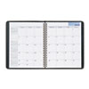 DayMinder® Recycled Monthly Planner, Black, 6 7/8