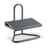 Safco® Task Master Adjustable Height Footrest, 20w x 12d x 5 1/2h-15h, Black