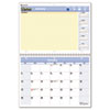 AT-A-GLANCE® QuickNotes Recycled Desk/Wall Calendar, 11