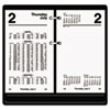 AT-A-GLANCE® Financial Desk Calendar Refill, 3 1/2