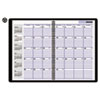 DayMinder® Recycled Monthly Planner, Black, 7 7/8