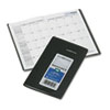 Recycled Monthly Planner, Black, 3 5/8