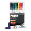 Sanford® uni-Paint Marker, Medium Point, Assorted, 12/Set