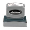Xstamper® Custom Message Stamp, Pre-Inked, N13, 9/16 x 2