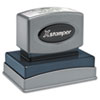 Xstamper® Custom Message Stamp, Pre-Inked, N16, 1 1/2 x 2 1/2
