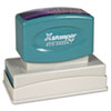 Xstamper® Custom Message Stamp, Pre-Inked, N18, 7/8 x 2 3/4
