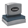 Xstamper® Custom Message Stamp, Pre-Inked, N22, 1 15/16 x 2 15/16