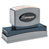 Xstamper® Custom Message Stamp, Pre-Inked/Re-Inkable, N26