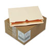 S J Paper Reinforced File Jackets, Two Inch Expansion, Letter, 11 Point Manila, 50/Carton