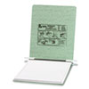 ACCO Pressboard Hanging Data Binder, 9-1/2 x 11 Unburst Sheets, Light Green