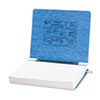 ACCO Pressboard Hanging Data Binder, 11 x 8-1/2 Unburst Sheets, Light Blue