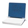 ACCO Pressboard Hanging Data Binder, 11 x 8-1/2 Unburst Sheets, Dark Blue