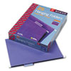 Smead® Hanging File Folders, 1/5 Tab, 11 Point Stock, Letter, Purple, 25/Box