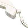 Softalk® Twisstop Detangler w/Coiled, 25-Foot Phone Cord, Clear/Ash