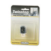 Softalk® Twisstop Rotating Phone Cord Detangler, Black