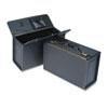 STEBCO Tufide Catalog Case, Vinyl, 22-1/4 x 8-3/4 x 13-1/2, Black