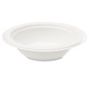 NatureHouse® Bagasse 16oz Bowl, White, 50/Pack