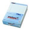 TOPS™ Prism Plus Colored Legal Pads, 8 1/2 x 11 3/4, Blue, 50 Sheets, Dozen