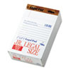 TOPS® The Legal Pad Jr. Ruled Perforated Pads, 5 x 8, White, 50 Sheet Pads, 12/Pack