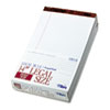 The Legal Pad Legal Rule Perforated Pads, 8-1/2 x 14, White, 50 Sht Pads, 12/Pk