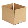 Universal® Corrugated Kraft Fixed-Depth Shipping Carton, 10w x 12l x 4h, Brown, 25/Bundle