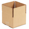 General Supply Fixed-Depth Shipping Boxes, Regular Slotted Container (RSC), 6