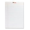 Universal® Perforated Edge Writing Pad, Legal Ruled, Letter, White, 50-Sheet, Dozen