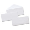 Universal® Security Tinted Business Envelope, V-Flap, #10, White, 500/Box