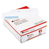 Universal® Security Tinted Window Business Envelope, V-Flap, #10, White, 500/Box