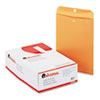 Universal® Kraft Clasp Envelope, Side Seam, 28lb, 9 1/2 x 12 1/2, Light Brown, 100/Box