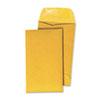 Universal® Kraft Coin Envelope, #5, Light Brown, 500/Box