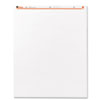 Universal® Recycled Easel Pads, Unruled, 27 x 34, White, 50-Sheet 2/Carton