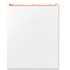 Universal® Recycled Easel Pads, Faint Rule, 27 x 34, White, 50-Sheet 2/Carton
