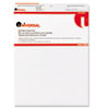 Universal® Self-Stick Easel Pads, Unruled, 25 x 30, White, 2 30-Sheet Pads/Carton