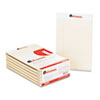 Universal® Colored Perforated Note Pads, Wide Rule, 5 x 8, Ivory, 50-Sheet, Dozen