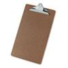 Universal® Hardboard Clipboard, 1-1/4