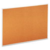 Universal® Bulletin Board, Natural Cork, 48 x 36, Satin-Finished Aluminum Frame