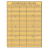 Universal® Light Brown Kraft String & Button Interoffice Envelope, 10 x 13, 100/Box