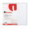 Universal® Steno Book, Gregg Rule, 6 x 9, White, 80 Sheets/Pad