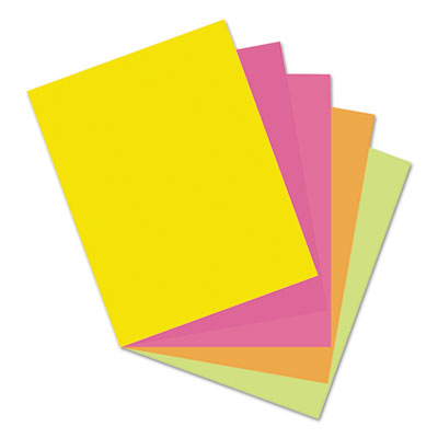 Pacon Array Card Stock 65 lb Letter Assorted Colors 250 Sheets//Pack 101195