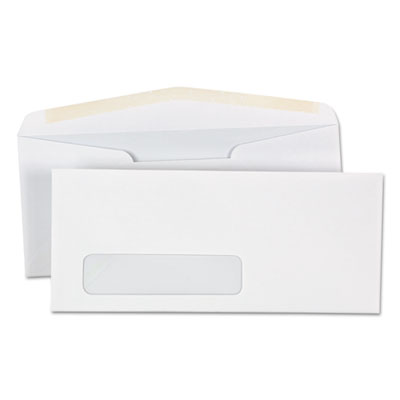 UNIVERSAL Window Business Envelope Side #10 4 1//8 x 9 1//2 White 500//Box 36321