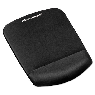 Fellowes PlushTouch Mouse Pad//Wrist Rest with FoamFusion Technology 9252201 Graphite