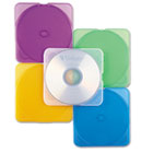 TRIMpak CD/DVD Case, Assorted Colors, 10/Pack VER93804