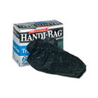 Super Value Pack Trash Bags, 30gal, .69mil, 36 x 29.5, Black, 60/Box WBIHAB6FT60