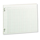 Accounting Sheets, 24 Columns, 11 x 14, 100 Loose Sheets/Pack, Green WLJG3024