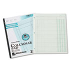 Accounting Pad, Two Eight-Unit Columns, 8-1/2 x 11, 50-Sheet Pad WLJG7202A