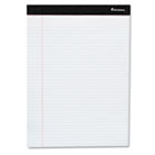 Perforated Edge Ruled Writing Pads, Legal, 6 Pads/Pack, White UNV30630