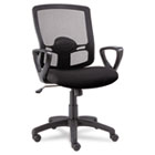 Etros Series Mesh Mid-Back Swivel/Tilt Chair, Black ALEET42ME10B