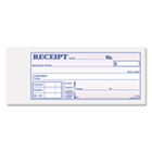 Receipt Book, 2 3/4 x 7 3/16, Three-Part Carbonless, 50 Forms ABFTC2701