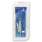 Eight Piece Math Tool Kit, Blue and Gray, 1 Kit ACM14551